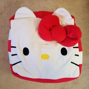 Big hello kitty cube pillow